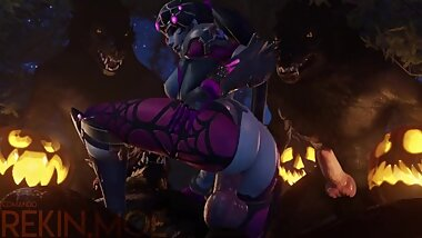 WIDOWMAKER GETS FUCKED WITH MONSTER FULL HD WITH SOUND