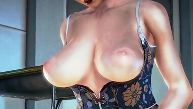 -Clire- Honey Select character with prefect shaped tits and cum all over