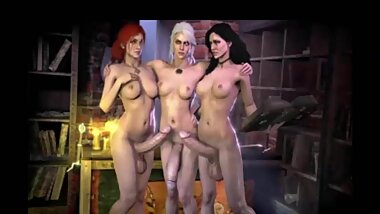 3D Futanari Collection 16