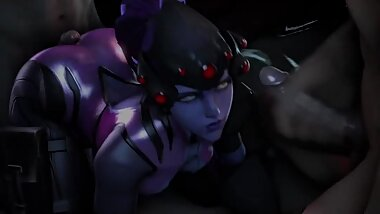 Overwatch Widwomaker Fuck Threesome Gangbang 3d Animations [10 min + Watermark free]