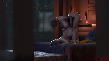 Resident Evil - Hot Ada Wong And Claire Redfield - Part 1