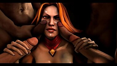 Lina Handjob Face Dota 2 3d Loop Animated
