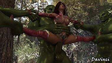 Hentai (Not)Fairy And The Orc V.2 'Davinci