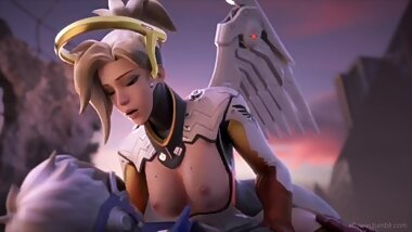 Mercy Orgasm (Overwatch)
