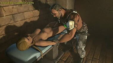 Monsters Fucked Cassie Cage and Sonya in 3d cartoon hentai sex game