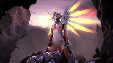 Mercy Fuck with Soldier Overwatch Full HD NSFW
