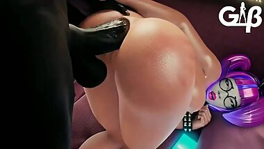 Fortnite Lace Anal Blacked POV