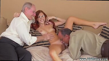 Old guy licks young pussy and 3d hentai old man girl and old